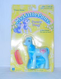 MOC RARE My Little Pony ~*Pretty Pony Flower Dream!*~ | eBay