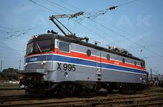Amtrak X995 Swedish Rc4 imported test locomotive, design was later licensed for the basis of the AEM7.    1976.