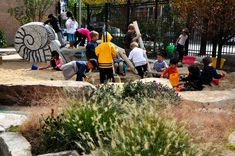 Montessori School | Natural Playground Design