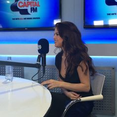 March 11: Selena during her interview at Capital FM Studios in London, England [GP]