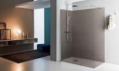 la tua casa tailor made Shower Cabin, Walk In Shower, Glas Art, Modular Walls, Cabin Design, Bathtub, Mirror, Bathroom, Architecture