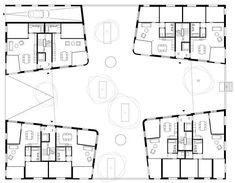 wild bär heule architekten ag Floor Plans, How To Plan, Architecture, Thesis, Interior, House, Inspiration, Design, Site Manager