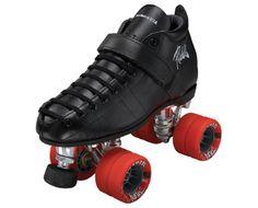 She Devil  Boot: 126 Black only  Plate: PowerDyne Triton Aluminum  Wheels: Radar Tuner Red  Bearings: KwiK ABEC-9  Toe Stop: PD Round Black  $319.00