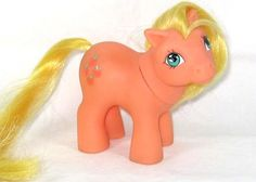 My Little Pony, I still remember how the plastic smelled.