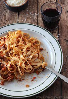 Sauce bolognaise (qui a remporté le titre de « meilleure au monde »)