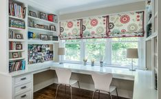white-lacquer-desk-Home-Office-Modern-with-Clear-stained-custom . - white-lacquer-desk-Home-Office-Modern-with-Clear-stained-custom … - Sunroom Office, Home Office Space, Home Office Design, Home Office Decor, House Design, Home Decor, Office Lounge, Desk Space, Office Ideas