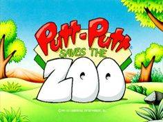 Putt-Putt Saves the Zoo - an interactive strategy puzzle solving game for kids. Problem Solving, Games On Youtube, Video Games, Educational Software, Fun Games For Kids, Putt Putt, Memory Games, Mini Games, Videogames