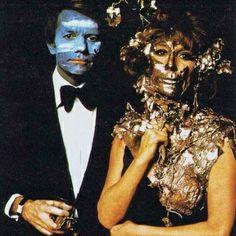 Costumes at 1972 Rothschild (Illuminati) party