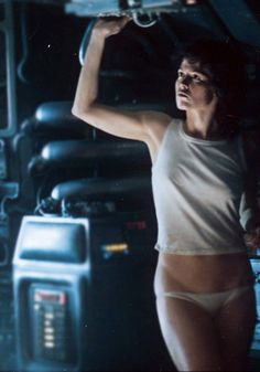 BSG inspiration : Ripley / Sigourney Weaver, Alien (1979) by ridley scott