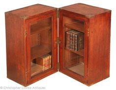 Campaign Book Cabinet - Mid 19th Century - Christopher Clarke Antiques