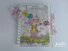 Janin ustvarjalni vrt                                       : Spominska knjiga Journal Diary, Memory Books, Notebook, Memories, Memoirs, Souvenirs, Caro Diario, The Notebook, Remember This