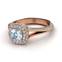 I'm in love with rose gold..love it with my birthstone too :)