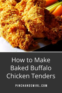 There is a secret to Ultra Crispy baked Buffalo Chicken Tenders. Hint: It's a double toast and I don't mean a long-winded best man. ;) Easy, healthy and the right amount of spicy, breaded with Panko crumbs and crisped up in the oven! #bakedchickentenders #buffalowings #buffalochicken #gamedayfood #gamedayrecipes #chickentenders Buffalo Chicken Tenders, Baked Chicken Tenders, Potluck Side Dishes, Side Dishes Easy, Quick Healthy Meals, Healthy Recipes, Double Toasted, Panko Crumbs, Buffalo Wings