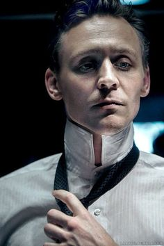Is this man even real???  Tom Hiddleston. Via Twitter.