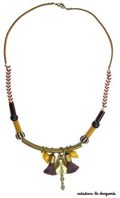 Le collier idéal pour les peaux bronzées ! #ladroguerie #collier