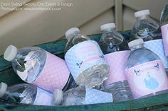Cinderella Water Labels by Stylingthemoment on Etsy, $8.50