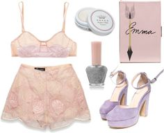 """""""come to bed with me"""" by cindylouu ❤ liked on Polyvore"""