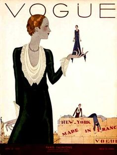 Jean Pages, Vogue, April 1930 by Gatochy, via Flickr