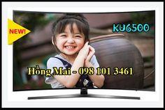 Bán xả kho Smart TV màn hình cong 4K UHD Samsung KU6500: 43KU6500, 49KU6500…