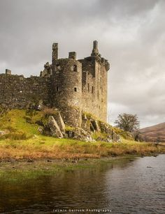 The remains of Kilchurn Castle, Loch Awe, Scotland.