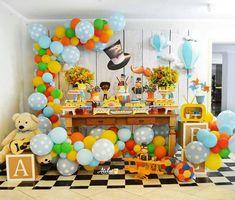 Festa Mundo Bita Balloon Garland, Balloons, 3rd Birthday, Happy Birthday, Baby Party, Birthday Decorations, Party Time, Alice, Reception