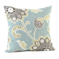 Blue Ankara Pillow kirklands