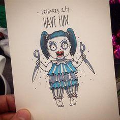 Продолжаем кукольный марафон. Всем веселье! Свободный эскиз. #вркнгхрдтдй  #frvrfrrs #spbtattoo #msktattoo #linework #oldschool #blackworkers #dollgirl #scissors #dolltattoo #scissorstattoo #havefun #available