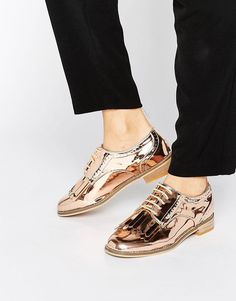 hot sales efe2f 0e9a2 Your Feet Will Thank You For Wearing These Shoes On Graduation Day -  38  ASOS Fringed