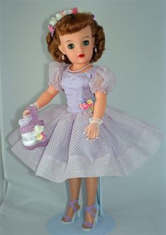 Before Barbie took over there was the Revlon fashion doll. Much better proportions don't ya think? revlon doll 1957   revlon dolls