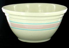 """12"""" McCoy bowl just like my mom had (though I don't know if her's was McCoy).  I want one for making bread."""