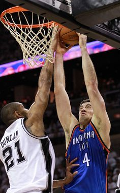 Nick Collison  - Thunder at Spurs: Game 5 - 6/4/2012 | THE OFFICIAL SITE OF THE OKLAHOMA CITY THUNDER