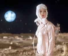 Lost in space retrofuturism. Retro fashion photography. Where we all want to dream.