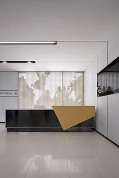 Super Creative reception desk sketchup that will impress you . - Super Creative reception desk sketchup that will impress you - Corporate Office Design, Office Reception Design, Modern Reception Desk, Corporate Interiors, Office Interior Design, Office Interiors, Reception Counter Design, Office Counter Design, Modern Office Table