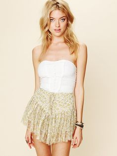 button bodice and summer skirt