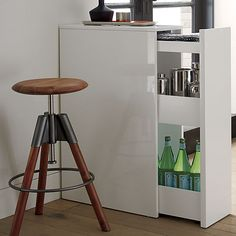CB2 - SAIC cache storage cabinet. Perfect as room divider or behind-the-couch table for small spaces.