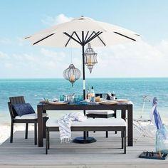 Um lugar pra relaxar e bons vinhos. Precisa de mais alguma coisa? #wine #vinho #aoarlivre #praia #beach