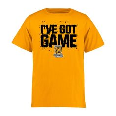 Colorado College Tigers Youth Got Game T-Shirt - Gold - $17.99
