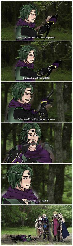 Fire Emblem Fates - Kaze is not as smart as he think he is