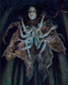 Arte Horror, Horror Art, Creature Feature, Creature Design, Dark Fantasy, Fantasy Art, Eldritch Horror, Creepy Art, Fantasy Inspiration