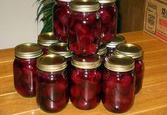 Betteraves Marinées Ketchup, Chutney, Beets, Kos, Conservation, Preserves, Pickles, Buffet, Mason Jars