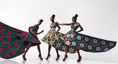"""The Art of Fashion – Vlisco """"Dazzling Graphics"""" New Campaign"""