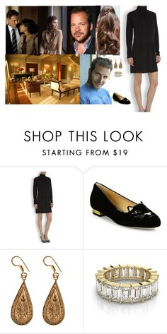 """""""Spending the afternoon with David and invited her sister Alicia and her cousin Edith and their husbands  Christian and Sebastian and  inviting her niece Sarah and her two young cousins Margaret and Henry  to be her Bridesmaids/Pageboys"""" by pacqueline-ngoya ❤ liked on Polyvore featuring Manolo Blahnik, Charlotte Olympia and Urbiana"""