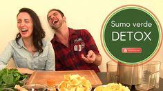 No vídeo de hoje partilhamos com vocês uma receita de um sumo verde que fazemos regularmente cá em casa! O início da nossa mudança alimentar tem começado com estes sumos, uma forma fácil e saborosa de consumir mais fruta e legumes no nosso dia-a-dia. Experimentem e partilhem connosco a vossa opinião!   Receita:   4 Limões. 4 Laranjas (descascar a casca das laranjas). Um pedaço de gengibre. Um pedaço de pimento (gênero Capsicum). Uma grande porção de espinafres. Uma ramo de salsa.   Gratidão… Sumo Verde Detox, Grande, Salsa, Blog, Juices, Eating Habits, Recipes, Fruit, Blogging