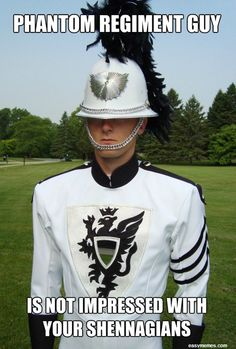Phantom Regiment guy