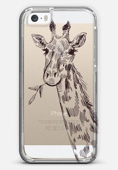 giraffe iPhone 5s case by Marianna | Casetify