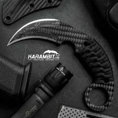 The Schwartz Tactical Carbon Fiber Titanium Rex Karambit is in stock (only 2 available)! GO Get it! Please allow up to 3 days for shipping. These may be the only ones available before Christmas.