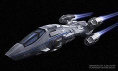 corvette spaceship - Google Search
