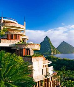 World's Best Beach Hotels: Jade Mountain, St.Lucia