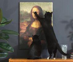 Copycat Art Scratcher – Laissez votre chat faire ses griffes sur des œuvres d'art
