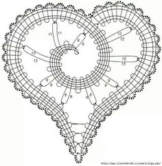 .irish crochet motifs -